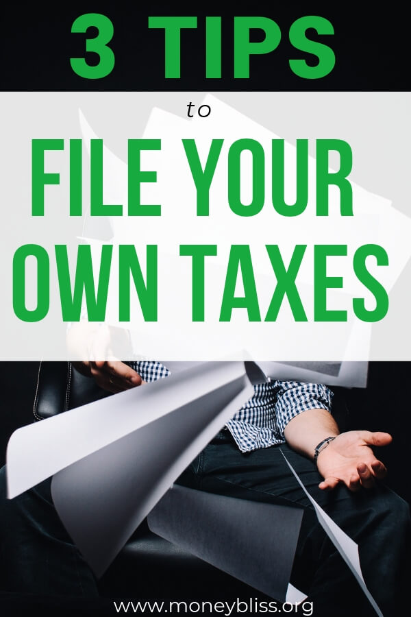 Simple. Easy. Seamless. Learn how to file taxes online. Use a tax software product as a guide. Make sure you are getting a maximum refund of money. #taxtips #moneybliss