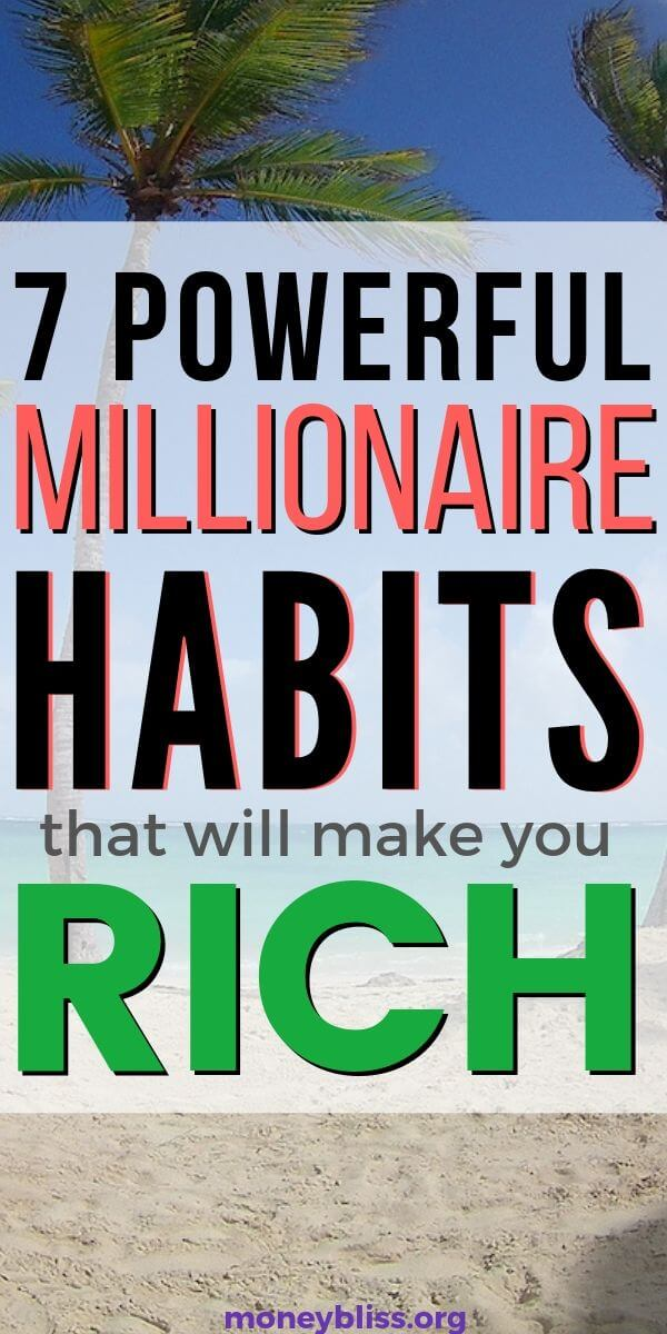 Want to be rich? Then, learn how to be a millionaire. Just start doing these simple and easy millionaire habits. Become the next door millionaire.