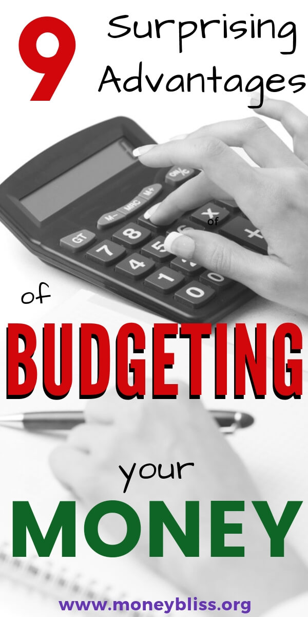 Given up on a budget before? Get on track with budgeting with these motivation tips. These advantages of a budget will make living on a budget doable. #budget #money #moneybliss