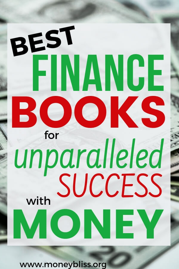 Transform you money situation forever by adding these best personal finance books to your reading list. Get tips and ideas to change your life now and forever. #finances #books #money #moneybliss