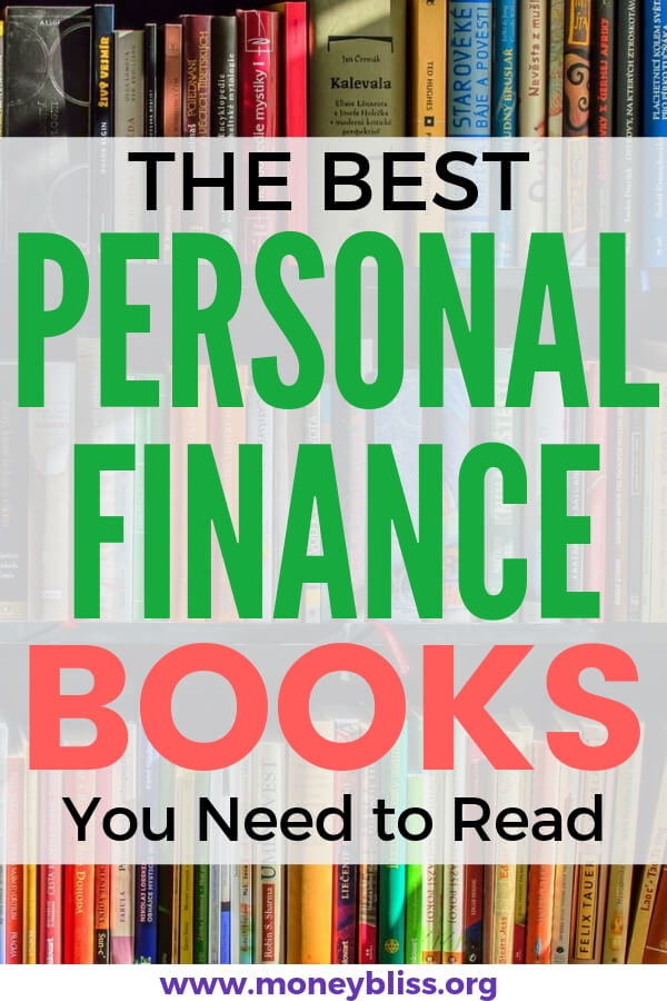 The best personal finance books you need to read. This list will change your life and your money situation. Get money tips to get out of debt, save money, and reach financial freedom. #money #books #personalfinance #moneybliss
