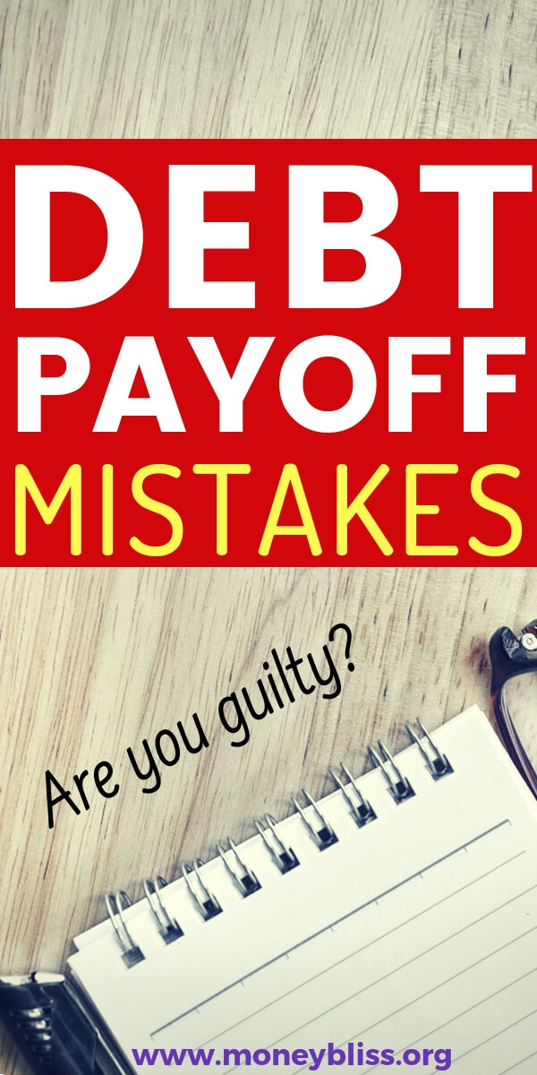 If you want to get out of debt, then don't make one of these common debt payoff mistakes. Pay off debt the right way with a debt plan and change your personal finance situation.