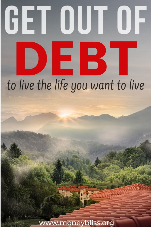 Looking to get out of debt to live a better life. Find simple strategies to payoff debt! Make a plan with these tips! Here are 5 simple to follow steps to become debt free.