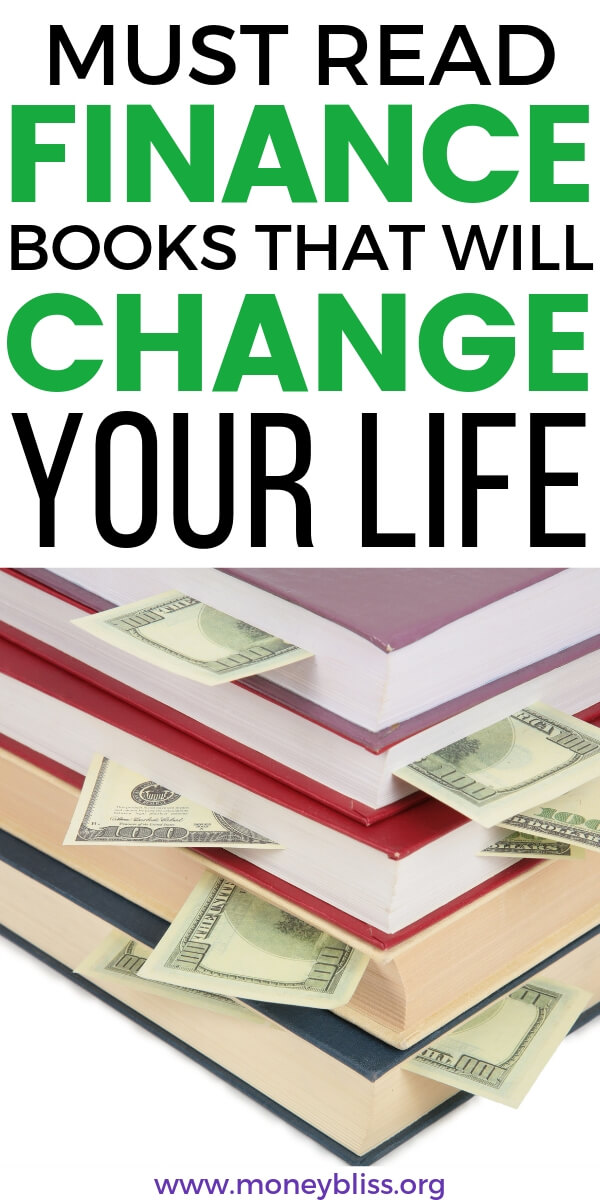 Highly recommended personal finance books to start reading. These financial books will change your life and improve your financial situation greatly. Transform you money mindset with these money management books. #money #finances #books #moneybliss