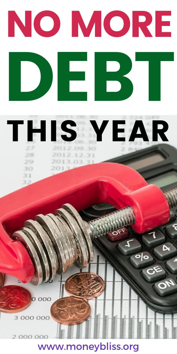 Find all the help, inspiration, and motivation to pay off debt. Reduce your debt by paying off debt fast with these tips and tricks. Money management is key to find relief. Make your personal finances a priority this year. #finances #debt #moneybliss