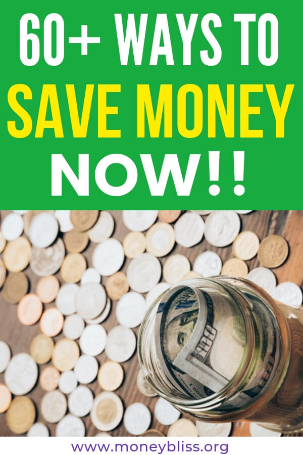 Simple and easy ways to save money fast. Use that extra cash for improve you personal finance situation. Learn how to make your budget work. Plenty of ideas and tips for your life! #save #finances #moneybliss