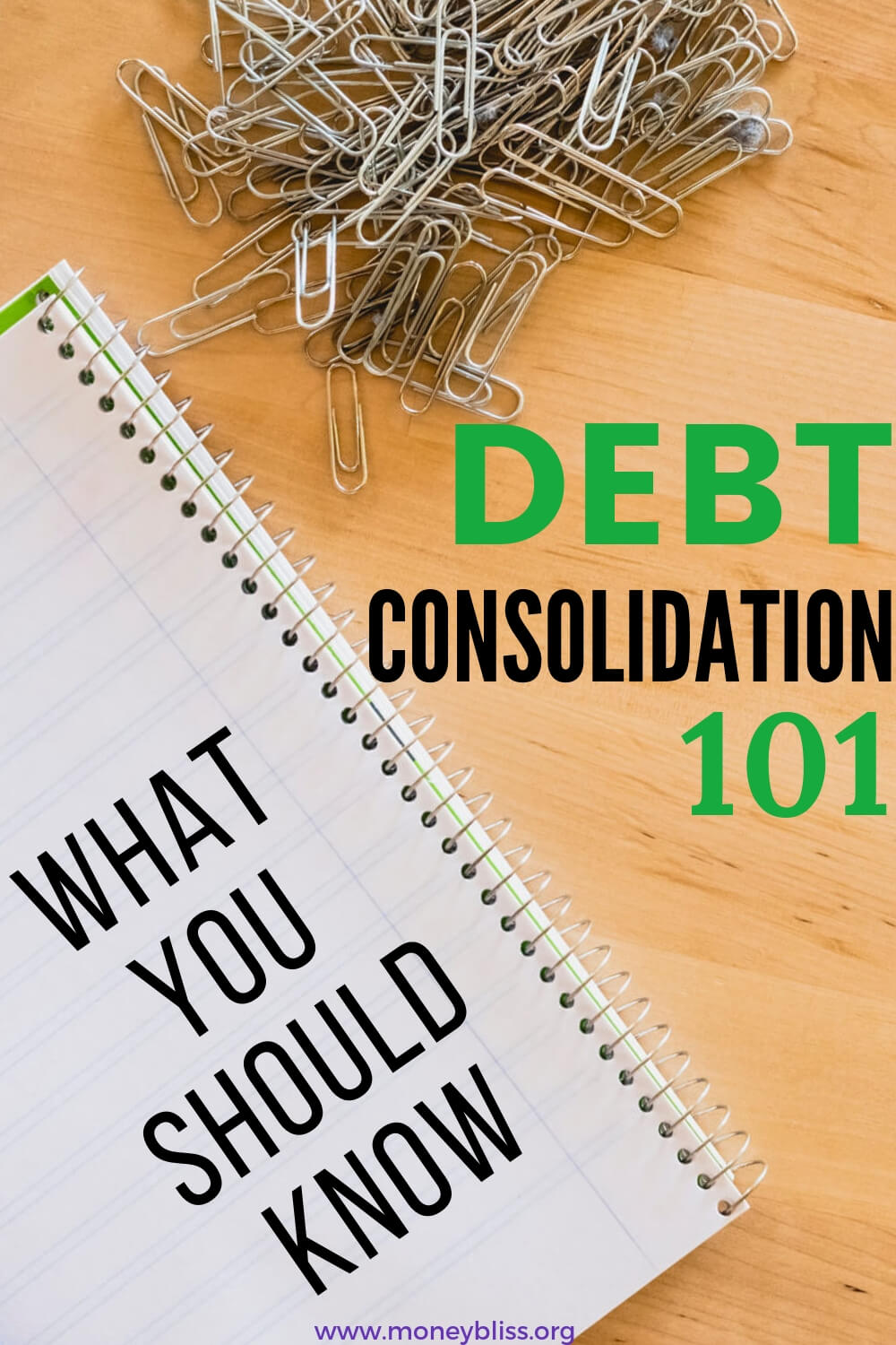 Learn if consolidating debt with a loan is right for you. Tips to find reputable lenders and companies. Use debt consolidation to get out of debt and change your personal finance situation. #getoutofdebt #moneybliss