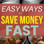 Use these money saving tips to save money fast!