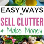 Learn how to make money from decluttering. Sell items online and make extra money. Tips for success decluttering purge.