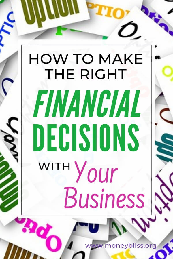 Want to start a business? Learn how to make the right financial decisions from website hosting, branding, website design and more. These ideas will help you on your entrepreneurship journey. #business #biztips #moneybliss