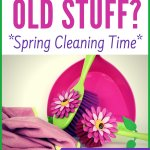 Spring Cleaning Mode? Maybe minimalism? Maybe needing to clear clutter? Learn what to do with old stuff. Plus make money quickly! Where to sell phones, books, toys online for free. Household items to sell for extra cash.