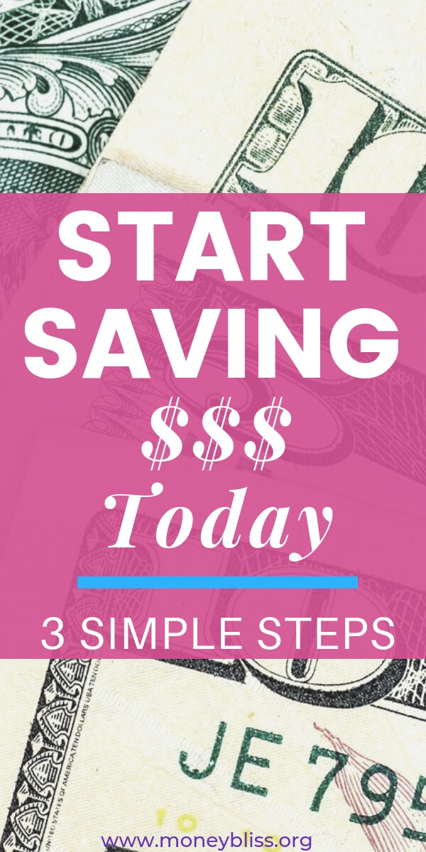 Save money with 3 simple tips each week. Even if you are living paycheck to paycheck, you can save money and get out of debt. These tips and ideas will improve your budget and finances. #savemoney #moneybliss