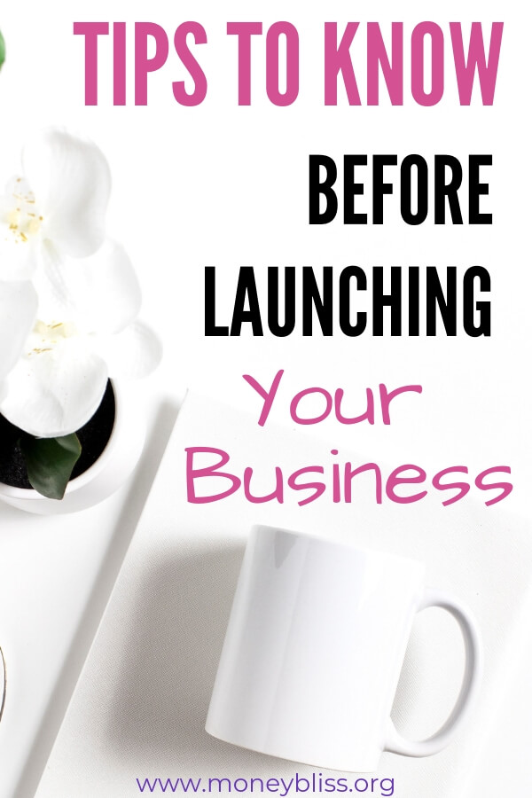 Want to start a business from home? Read these ideas on how to launch a business online. Marketing and branding are important for successful businesses. #business #startup #moneybliss