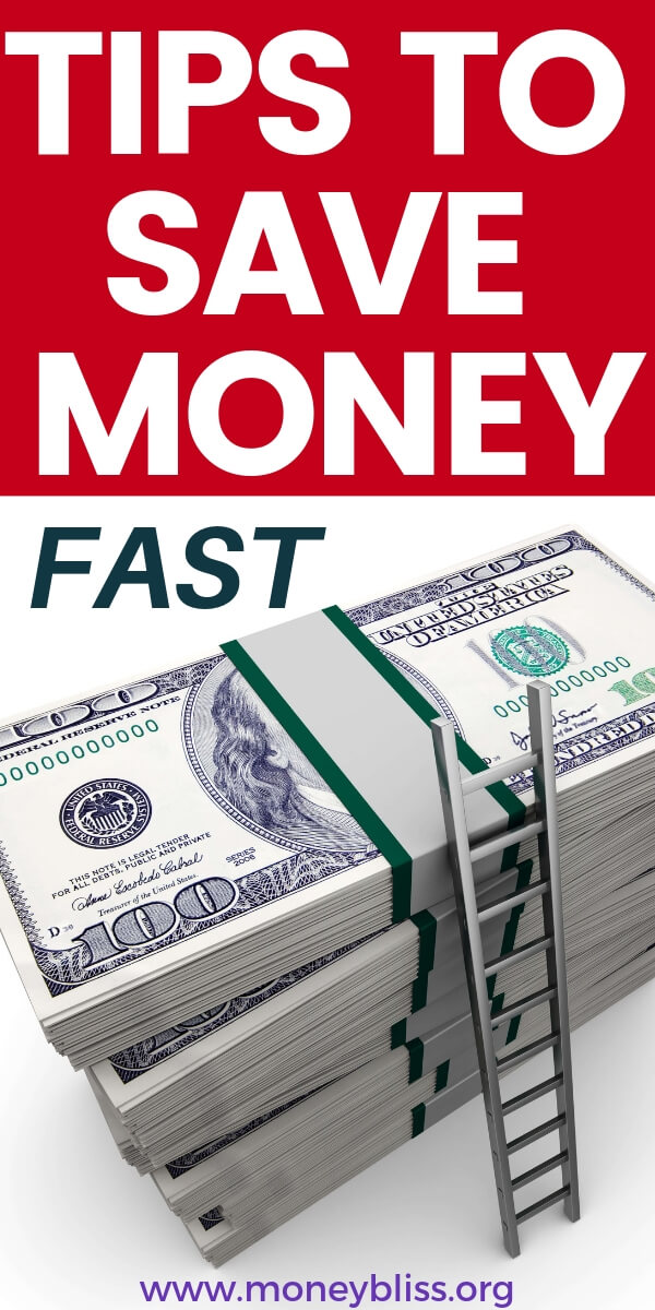 Learn how to save money fast with these ideas. Find extra cash in your budget. Learn how to make ends meet with all of these tips. Have your money work fo you! #savingmoney #save #moneybliss