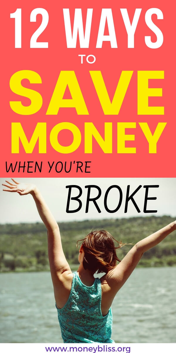 The challenge to becoming debt free and stop living paycheck to paycheck can be overwhelming. Learn how to save money when you are broke and have no money. Frugal living, creating a budget, and living with less will help you overcome.