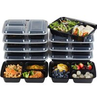 Reusable Meal Prep Containers, Leak Proof Microwave, Dishwasher and Freezer Safe