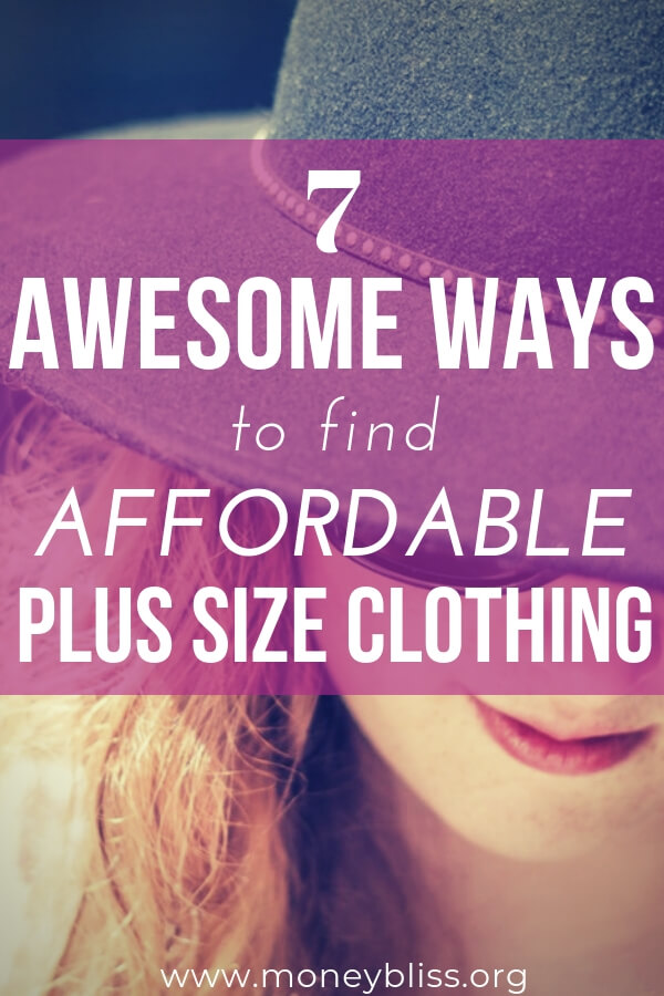 Awesome ways to find affordable plus size clothing. The best places and sites to shop for trendy women's plus size clothes. Find budget friendly options for work, casual, summer, fall, winter plus accessories. #clothing #shopping
