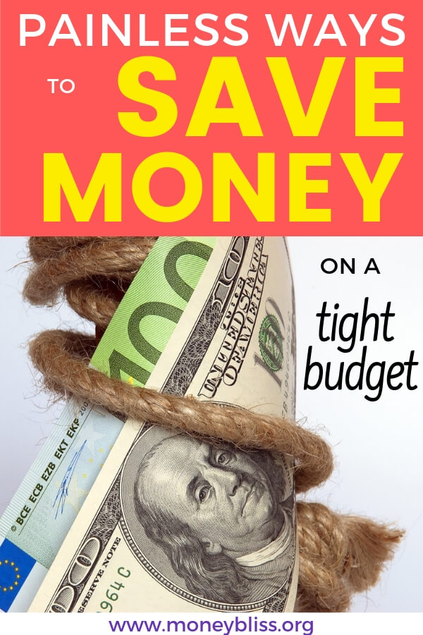 Find 12 simple and easy ways to save money on a tight budget. Not all of the money saving tips include just frugal living. The budget friendly tips will make a huge impact on your personal finances and life.