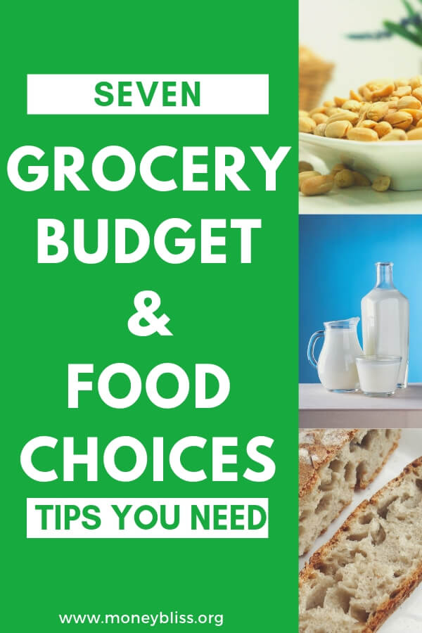 Recent diagnosis of a food allergy or choosing to eat healthier (paleo, whole 30, keto) and freaking out over the food costs? Don't worry. It is possible to stay within your grocery budget and eat healthy. Here are tips to stay on budget with food allergies or food choices Your grocery budget won't be skyrocketing. Get food allergy recipes and tips. #grocerybudget #mealplan #paleo #whole30 #keto #foodallergies #glutenfree