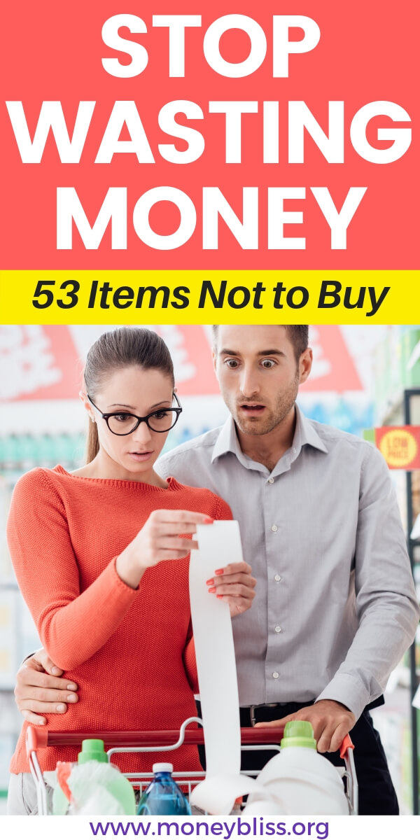 Learn how save money on groceries. Stay on budget when grocery shopping. Save money by not buying these items. These grocery money saving tips will save you thousands. Combine frugal living with healthy eating to equal extra cash.