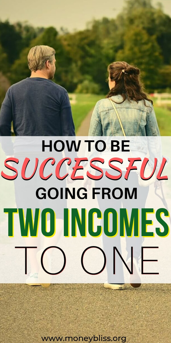 Figuring out how to budget your money from two incomes to one may sound crazy. But, it truly isn't! Living on a single income in a dual income world is hard if you're used to spending and not saving money. Use these awesome and simple tips if you're getting ready to start a family or want to reach financial freedom sooner.