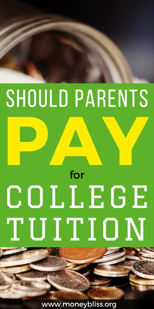 Who should pay for college? Should you take out student loans? What to do if you can't afford college? Get guidance before going into student loan debt.