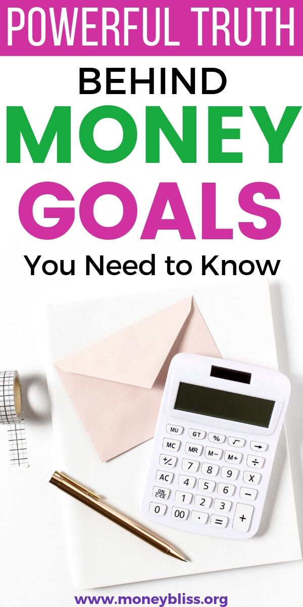 Money goals help financial planning and reaching financial independence. Learn the power truth behind money goals.