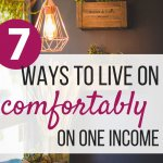 This is exactly how I found success when living on one income. As a stay at home mom, we needed to find budgeting tips and change our money management. Here are the ways we found living on one income work for families. Plus we finally figured to pay off debt. Now, we are living on one income to save the other. #debtfree #budgeting #finances