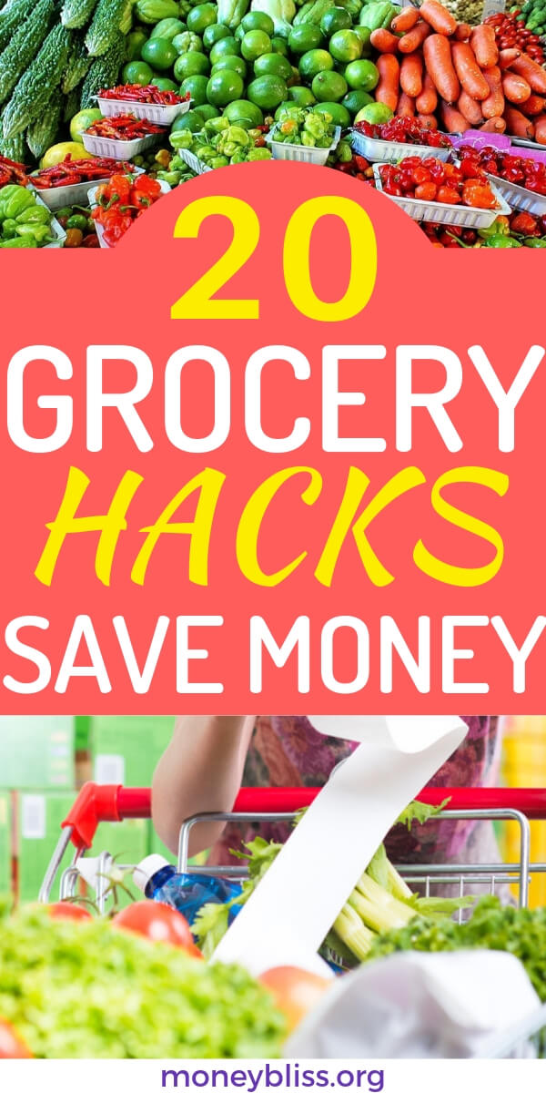 You must know the 20 grocery hacks and tips to save money each and every month. Learn how to save thousands of dollars with these simple ways. Feed the families real meals and eat healthy.