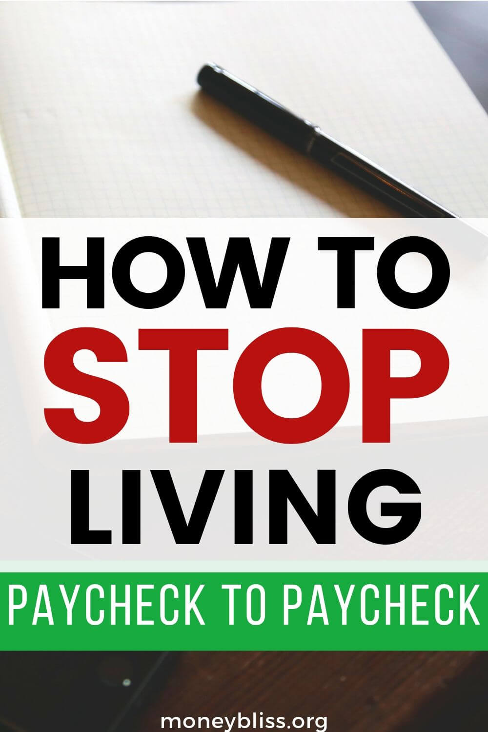Learn the warning signs of living paycheck to paycheck. Then, use these simple tips to stop living paycheck to paycheck today! It is possible to get ahead with budgeting. Pay off debt and save money.
