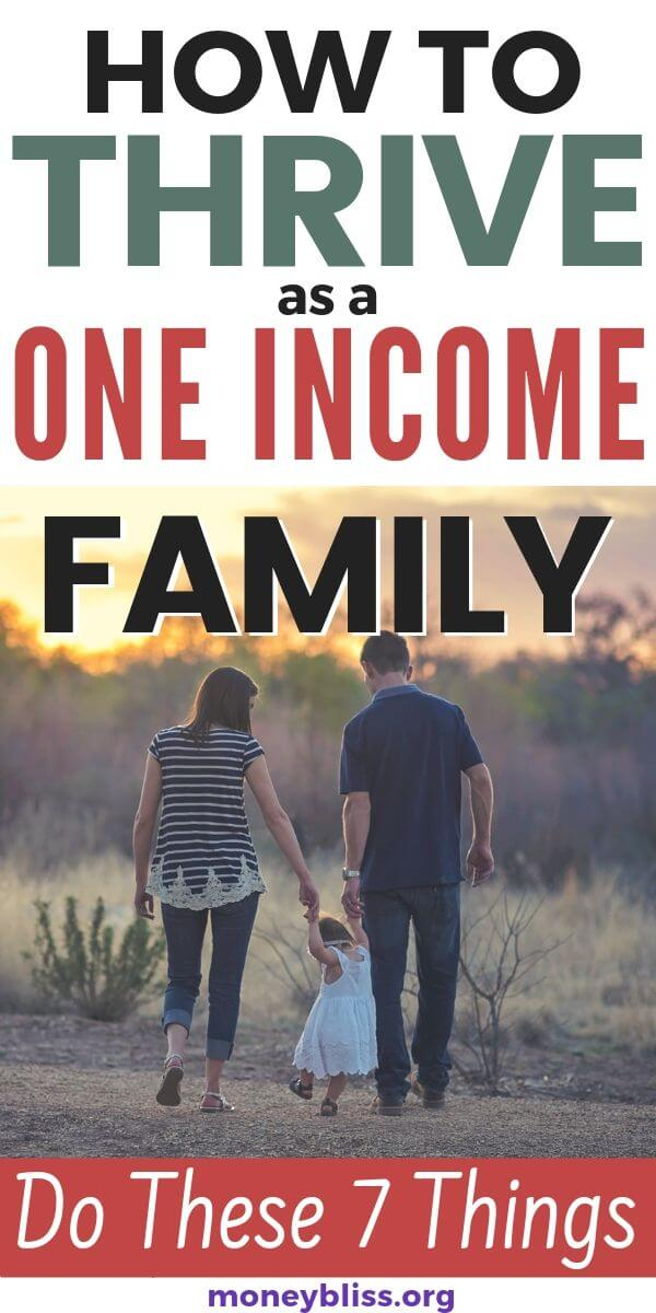 Learn how to stay at home when living on one income. Perfect for all families. Get tips to make it happen. Budget is crucial for single income families.