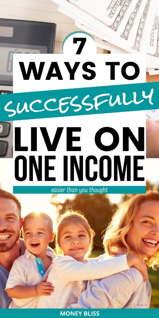 Are you needing tips for living on one income? Here are the exact ways to live on one income. You can stay at home, work on debt payoff, or even save more money. Learn the secrets of money management and frugal living in this post! Families - you must read… #income #moneymanagement #frugal