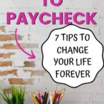 Are you tired of being broke? Then, it is time to learn how to stop living paycheck to paycheck. Understand how to save money instead of running short on cash. These budgeting tips will start your path to financial freedom.
