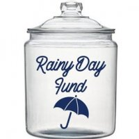 Rainy Day Fund Jars