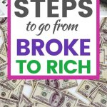 Do you know how to go from broke to rich? Here is a hint... Your money mindset will make or break your financial situation.
