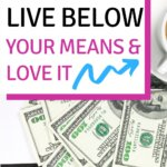 Do you want to know how to really live below your means? It is way easier than you think. Use these personal finance tips and begin saving money. In this post, they cover the best ways to live below your means. It is really simple and easy! These is what financial peace and debt free living means!