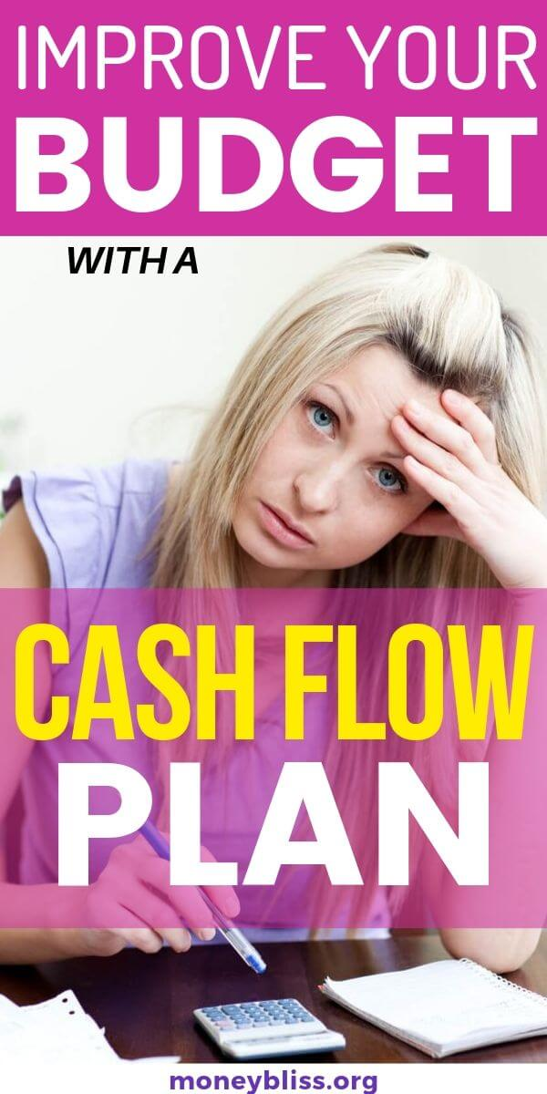 This is how I stop living paycheck to paycheck. This simple budgeting tip helped advance my budgeting skills. Learn how a cash flow plan can improves your personal finances and create your own cash flow statement. Plus grab your free cash flow template and worksheet.