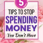 How to stop spending money you don't have. Best money saving tips to help you start to save money and then grow wealth. Enjoy debt free living and financial peace. These money management tips make frugal living easy!