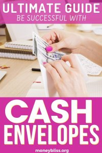 Cash envelope system. Be prepared to be successful with your budget. Learn how to get started with this ultimate guide for beginners. Find your free printable template. Start saving money today.