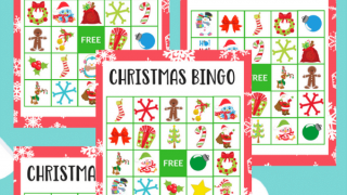 Printable Christmas Bingo for Preschoolers