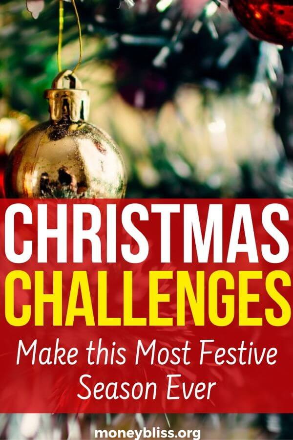 Christmas Challenges! Create the perfect traditions with these ideas - decorations, crafts, gifts, cookies, and decor DIY. Plan the best party games and make this a festive season!