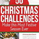 Christmas challenges to get your prepared for the festive season. Find ideas on crafts, games, cookie exchanges, gifts, and savings plan. Get organized in less than 30 days. Plus activities for kids! Stick to your Christmas budget this year!