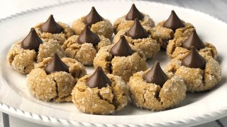 Gluten-Free Peanut Butter Blossoms Recipe