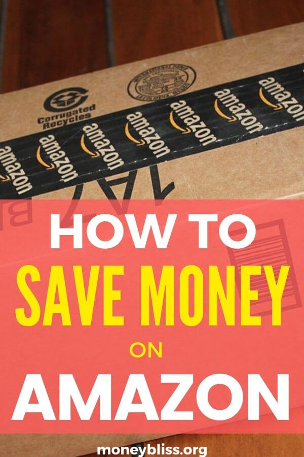 Ultimate Guide on how to save money on Amazon. Use these money saving tips when shopping online. Simple and easy ways to save money with Amazon Prime.