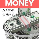 This is what I did to stop wasting money. Get simple and easy tips to start saving money today. Some of the ways we waste money is funny - yet that is how we manage money.