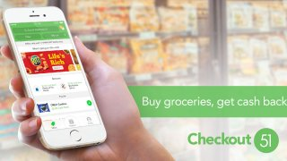 Checkout51: Buy groceries, earn cash back.