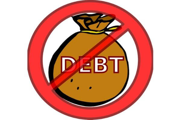 No more debt. Learn how