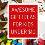 Christmas Gift Ideas for Kids. Everything is under $10. Find the best gift for boys and girls. Perfect to stay under your Christmas budget. The perfect small present doesn't have to be cheap things.