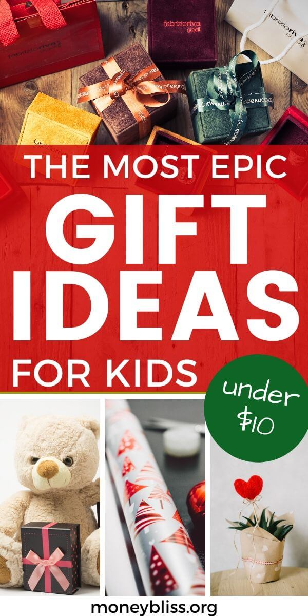 Christmas Gift Ideas for Kids. Everything is under $10. Perfect to stay under your Christmas budget. The perfect small present doesn't have to be cheap things. Find the best gift for boys and girls.