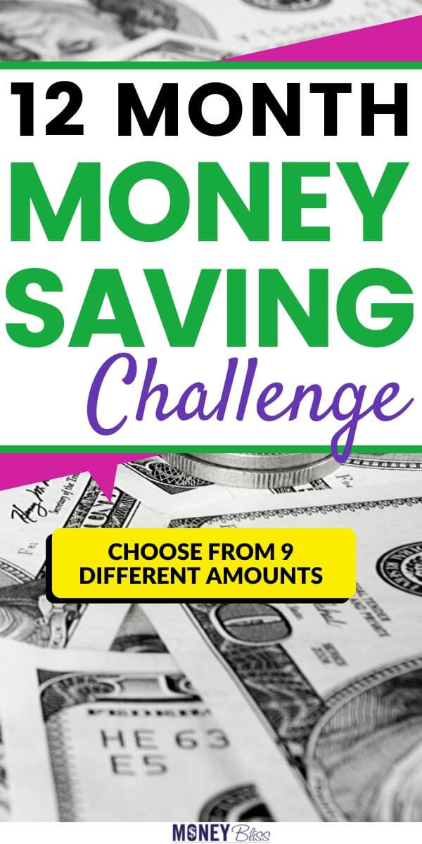 Use one of these monthly money saving challenges to save more money. Simple ideas to help save money. Over the course of 12 months, you can save $1000, $3000, $5000, $10000, $15000, $20000 or $25000. These money saving plans are based on your income and expenses. Don't compare your money journey to the next person. We all had to save our first $1000 before we could think of saving $25K. Find personal finance inspiration today! Track your savings in this free printable money saving chart.